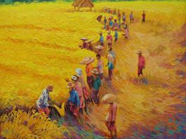 Harvest day by awijaya17