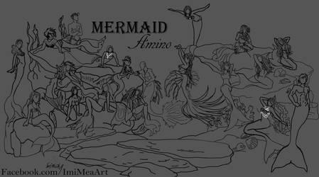Merchems Line Art by AcaediaIsGone