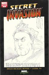 Secret Invasion II Commission Queen Victoria by FranklinTKeener