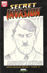 Secret Invasion II Commission Adolph Hitler by FranklinTKeener