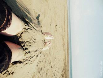 sea, sand, peace ... by Kva-Kva
