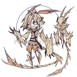 [OPEN] set price - Aisurah - Demonic Blade + Extra by Polis-adopts