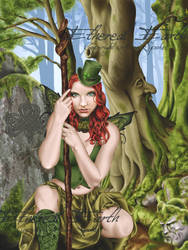 The Green Faerie by Faerali