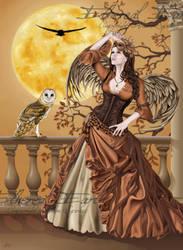Hunter's Moon by Faerali