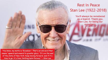 RIP Stan Lee by Beathyra