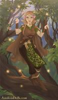 Merrine in her life of adventure by Beathyra