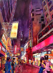 Sai Yeung Choi Street, Hong Kong by starz300