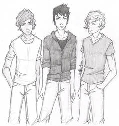 Dystopian boys by chrysalisgrey