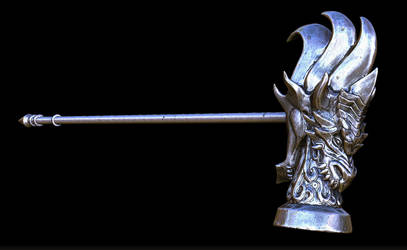 Dragon's Hammer by dieofking