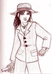 Mafia Chick by Leshachikha