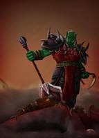 High Overlord Varok Saurfang by koborquez
