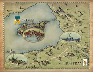 Commission 2016: Lightbay and Orden by Traditionalmaps