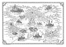 Commission 2016: the First Kingdoms by Traditionalmaps