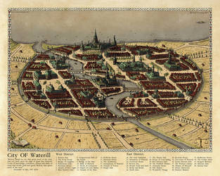 The City of Waterill 2017 by Traditionalmaps