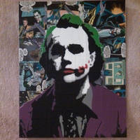 The Joker by DOMWALLFLOWER