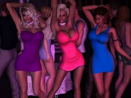 Girl's Night by Dynamoob