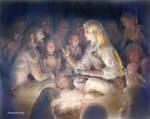 Elf Meets Men by annamare