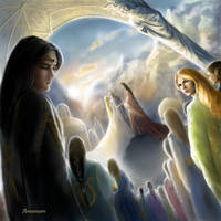 The Wedding Of Tuor And Idril by annamare