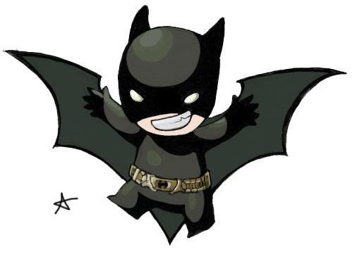 Chibi Batman by alexaaaaa