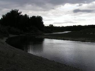 Yellowstone River II by Abi-In-Malam-Crucem