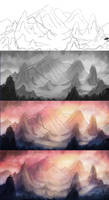 Heaven - process by willroberts04
