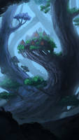 Elven Forest by willroberts04