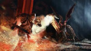 Dragon Battle by willroberts04