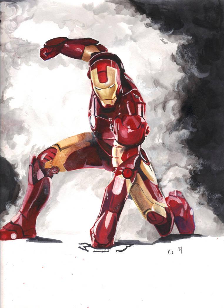 Marvel: I Am Iron Man by RyesAsylum27