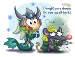 LOL: Nami and Twitch by phsueh