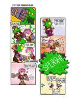LOL: Fist of Friendship by phsueh