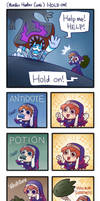 (Monster Hunter Comic) Hold On! by phsueh