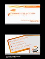 7 design office visit card by karimkhani