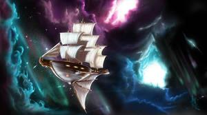 Sailing Away by Caelkriss