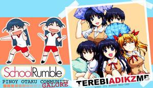 Terebi Adikz: School Rumble by prettyfoolish