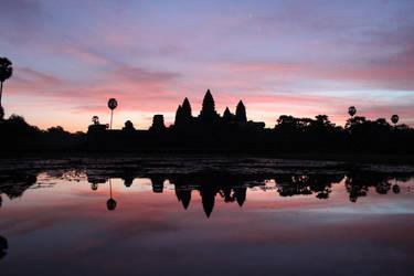 Another Angkor Wat sunrise by Danata