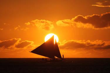 Perfect sunset by Danata