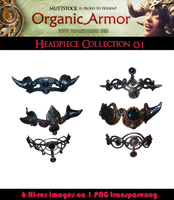 OA Headpiece Collection 01 by Muttstock