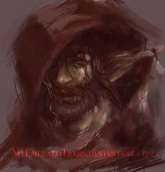 1 Hour Speed Paint: Adrian Portrait by MyEmeraldTears