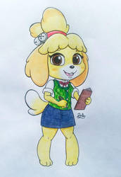 Isabelle ~ Animal Crossing by PilloTheStar