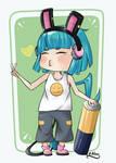 Pile - Fanart for Charln by kuroi-yamaneko