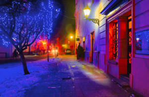 january old town by marrciano