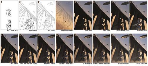 Steps for Underneath Bridge by blackbookalpha