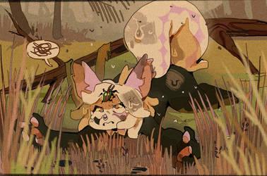 the little hunter by medobes
