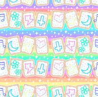 Kawaii Poptart Pattern by MissJediflip