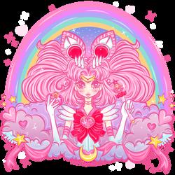 Sailor Chibi Moon by MissJediflip