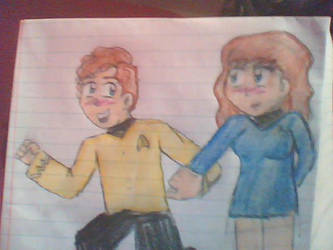 NuChekov and Anya by drawer-of-things12