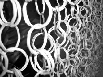 Chain Curtain by rubberduck354