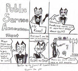 Public Service Announcement by InverseInsanity