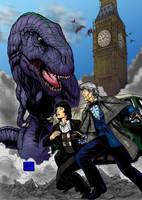 Dinosaur Invasion by JZLobo