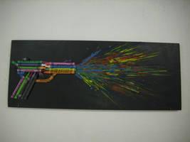 crayon gun by dize13579